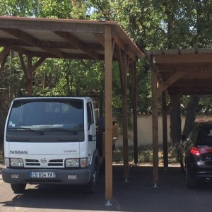 abri voiture et camping car