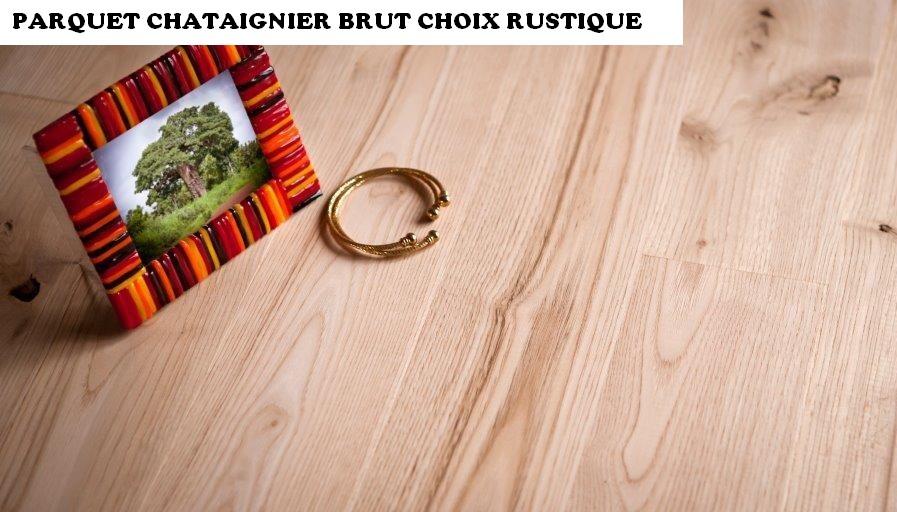chataignier 23 100 rustique brut var et bois. Black Bedroom Furniture Sets. Home Design Ideas