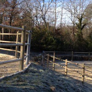 piquets / rondins / clôtures