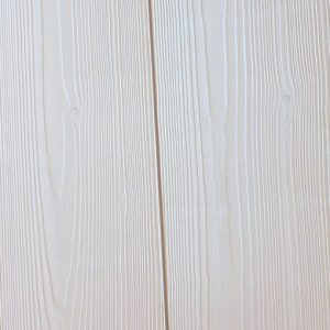 lambris sapin du nord peint en blanc brossé 16 x 180 mm