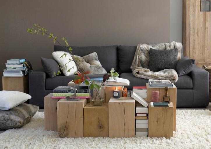 cubes en ch ne massif var et bois. Black Bedroom Furniture Sets. Home Design Ideas
