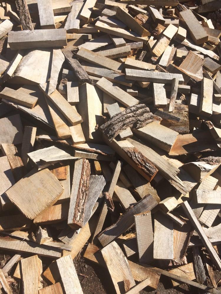 chêne, bois de chauffage